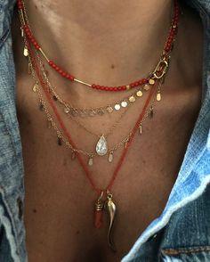 fancy necklace 12 - fancy necklace 12 Source by mrshko - Women's fashion interests Fashion Jewelry Necklaces, Cute Jewelry, Boho Jewelry, Beaded Jewelry, Jewelery, Jewelry Accessories, Fashion Accessories, Women Jewelry, Jewelry Design