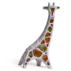 BY COLLECTION - Glass Menagerie Giraffe _ jonathan adler _ melting glass into clay