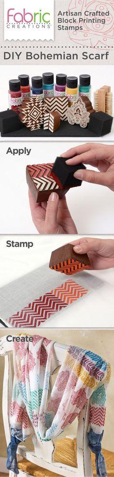 Fabric paint printing.