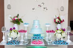 tiffany and co. inspired floral arrangements - Google Search