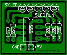Cara membuat lampu led berjalan sederhana dengan IC 555  Dengan projek membuat lampu dari dioada LED yang sangat mudah dan hanya menggunakan IC 555  yang saya sudah rangkum di postingan kali ini yaitu Cara membuat lampu led berjalan sederhana dengan IC 555 ,projek kali ini cocok sekali buat anda para sahabat yang baru saja belajar dan juga ingin terjun ke dunia elektronik dan pastinya kita belajar dengan membuat projek yang paling sederhana dulu sebagai permulaan. Diy Electronics, Electronics Projects, Electrical Circuit Diagram, Electronic Circuit Projects, Led Projects, Led Board, Electronic Schematics, Car Audio Amplifier, Subwoofer Box