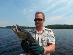 Calm waters, good fishing at Lake Herridge Lodge & Resort