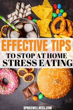 Learn about 8 powerful strategies to stop or reduce stress eating. how to avoid stress eating, stress eating remedies, how to stop stress eating, how to not stress eat, avoid stress eating How To Avoid Stress, How To Handle Stress, Reduce Stress, Lose Weight In A Month, Healthy Weight Loss, How To Lose Weight Fast, How To Get Motivated, Stress Eating, How To Sleep Faster