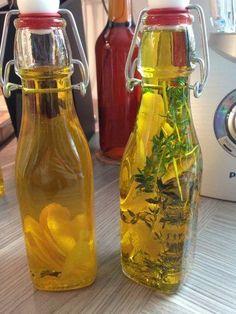 Zitronen-Öl