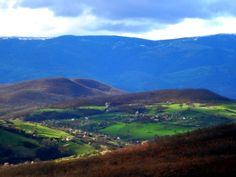 A view from St.Georges Pillars monastery near Novi Pazar