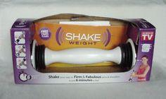 Very Slightly Used.Shake Weight with DVD & Instructions in Original Box 2.5 lbs. #AsSeenOnTVShakeWeight