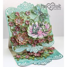 Gallery | Winking Frog Easel Card - Heartfelt Creations