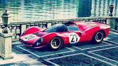 Artists impression of #330p4 #ferrari #p4 #1967 #sport #prototype #art #tbt #race #car #carporn #carswithoutlimits #motorsports