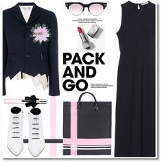 Fashion set Pack and Go: Paris Fashion Week created via Love And Marriage, Elegant Woman, Handmade Bags, Signature Style, Mens Fitness, My Outfit, Trendy Outfits, Polyvore Fashion, Yves Saint Laurent