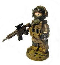 Lego Desert Strike Custom minifigure!