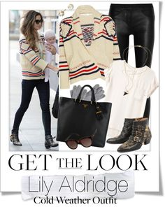 """Get The Look - Lily Aldridge"" by renatademarchi ❤ liked on Polyvore"