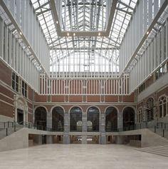 Rijksmuseum  Design: P. J. H. Cuypers / Cruz y Ortiz  Commissioner: Rijksgebouwendienst