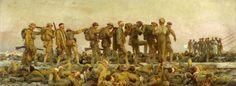 Seeking superior fine art prints of Gassed, the First World War by John Singer Sargent? World War One, First World, Google Art Project, American Artists, British Artists, Art Google, Art History, Fine Art, Canvas