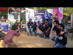 Sinners showing off their dance moves at IBS Hyderabad! #SINatSupersonic