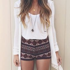 Brandy Melville Shorts BNWT Brandy fair isle knit shirts as seen on priscillax103 on Instagram. Super comfy and very flattering! Better price on my Ⓜ️ercari so just ask if you want details on that!(: Brandy Melville Shorts