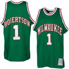 1df12a7ea 1971-72 Oscar Robertson Milwaukee Bucks road Jersey Milwaukee Bucks
