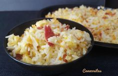 Arroz asiático para dos Thermomix Food N, Food And Drink, Couscous, Quinoa, Potato Salad, Tapas, Rice, Dishes, Eat