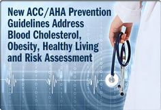 The American College of Cardiology and the American Heart Association, in collaboration with the National Heart, Lung, and Blood Institute (NHLBI) and other specialty societies, have released four guidelines focused on the assessment of cardiovascular risk, lifestyle modifications to reduce cardiovascular risk and management of elevated blood cholesterol and body weight in adults.  http://ht.ly/qKRHo