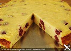 Fettarmer, blitzschneller und fruchtiger Käsekuchen
