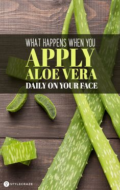 What Happens When You Apply Aloe Vera Daily On Your Face: We end up spending a considerable chunk of money on face creams oils serums sunscreen and what not. We tend to overlook the best solution for our skin problems that lies within the nature itself. What Is Aloe Vera, Aloe Vera For Skin, Aloe Vera Skin Care, Aloe Vera Face Mask, Aloe Vera Gel, Aloe For Face, Aloe Vera Face Cream, Best Nutrition Food, Health And Nutrition