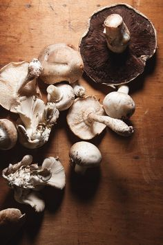 In Season - October. Mushrooms can be used in almost anything, from pasta and risotto to soups and stuffed in roast joints.