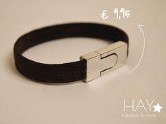 Subtiele armband | Zwart