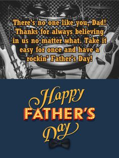 75 best fathers day cards images on pinterest in 2018 anniversary send free to my rockin dad happy fathers day card to loved ones on birthday greeting cards by davia its free and you also can use your own m4hsunfo