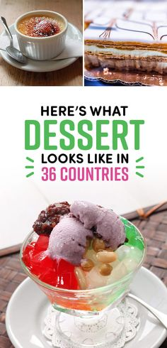 This Is What People Actually Eat For Dessert In 38 Countries Around The World