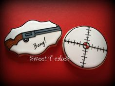 Love the scope cookie.