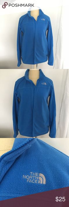 North Face Fleece Jacket Boys XL/Women's L North Face Fleece Jacket -Can be worn alone or as a liner with North Face coats or rain coats -This is a boys XL but my husband wore it as a men's small, it's larger than north face women's medium so I would estimate a women's large. Although I typically wear a medium In North Face I wore it for an oversized/comfy fit. The North Face Jackets & Coats