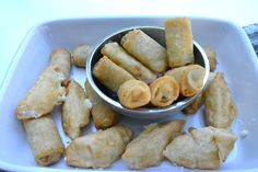 Pagoda Chicken Eggrolls and a Chinese Chopped Salad Recipe for the Chinese New Year!   Photo
