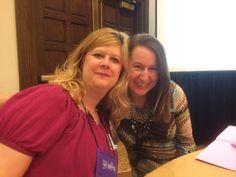 With YA author (and critique partner) Lori Freeland. RWA 2014.
