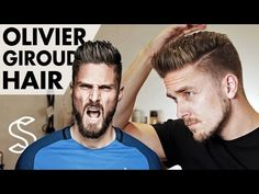 Olivier Giroud Hairstyle 2017 Short Men Hair Barber