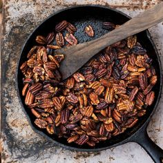 The low oven temp and long bake time allow these nuts to take on rich flavor without burning.