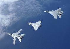 Tornado, Typhoon and a Flanker: Panavia Tornado, Eurofighter Typhoon of the Royal Air Force and Sukhoi Su 30 MKI