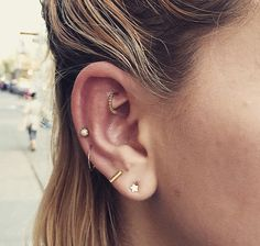 This is the right amount of piercings I want