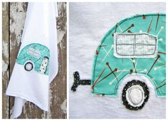 """""""Caravan"""" tea towel #SCAD fashion dsgn alum Heather Dutton $14. She's made surface designs 4 Pottery Barn + RealSimple pic.twitter.com/kt7zfb1T"""