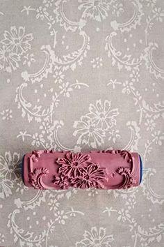 Rouleau peinture motif tissu pratique dr le gadget pinterest rouleau peinture motif tissu - Rouleau peinture motif ...