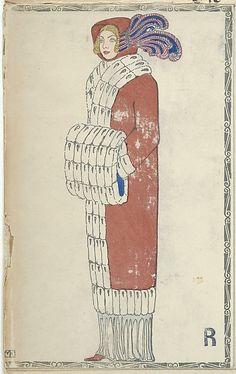Fashion (Mode), Artist: Mela Koehler (Austrian, Vienna 1885–1960 Stockholm) Publisher: Wiener Werkstätte Date: 1910