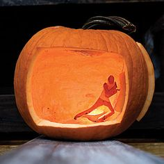 Diorama Pumpkin - 31 Halloween Pumpkin Carving Ideas - Southern Living