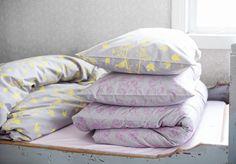 Luomupuuvillaiset lakanat - Organic cotton bed linen #piccu #bedroom #bedding