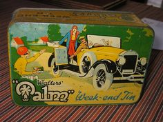 Thread for tins.. car and bike images - Advertising Antiques & OldShopStuff.com Home - Forum - Collecting Enamel Signs Forums - Old Tin Collecting Forum
