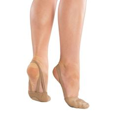 Girl's Danshuz Freedom Leather Ballet - Tan XS