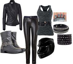 Biker Hottie - fashion fridays