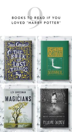 "9 Books to Read If You Loved ""Harry Potter"" via @PureWow"