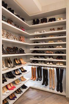 Walk In Closet Design, Bedroom Closet Design, Master Bedroom Closet, Closet Designs, Diy Bedroom, Bedroom Storage Ideas For Clothes, Bedroom Storage For Small Rooms, Closet Ideas, Shoe Shelf In Closet