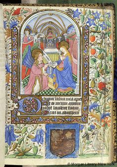 Book of Hours, M.63 fol. 21r - Images from Medieval and Renaissance Manuscripts - The Morgan Library & Museum