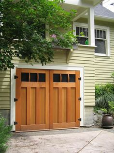 Craftsman Traditional Carriage Doors