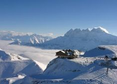 Portes du Soleil - mountain panorama