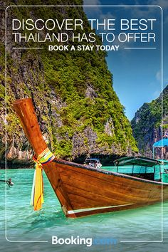 Make your Thailand escape a reality today with Booking.com. From the hustle and bustle of Bangkok to the world-famous beaches of Krabi, it's no surprise that Thailand is one of Southeast Asia's most popular destinations. Book your trip today.